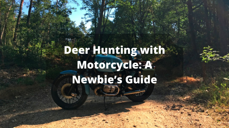 Deer Hunting with Motorcycle: A Newbie's Guide