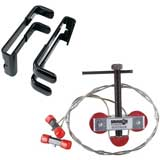 Bowmaster Bow Press and Quad Limb L Brackets Package Bundle